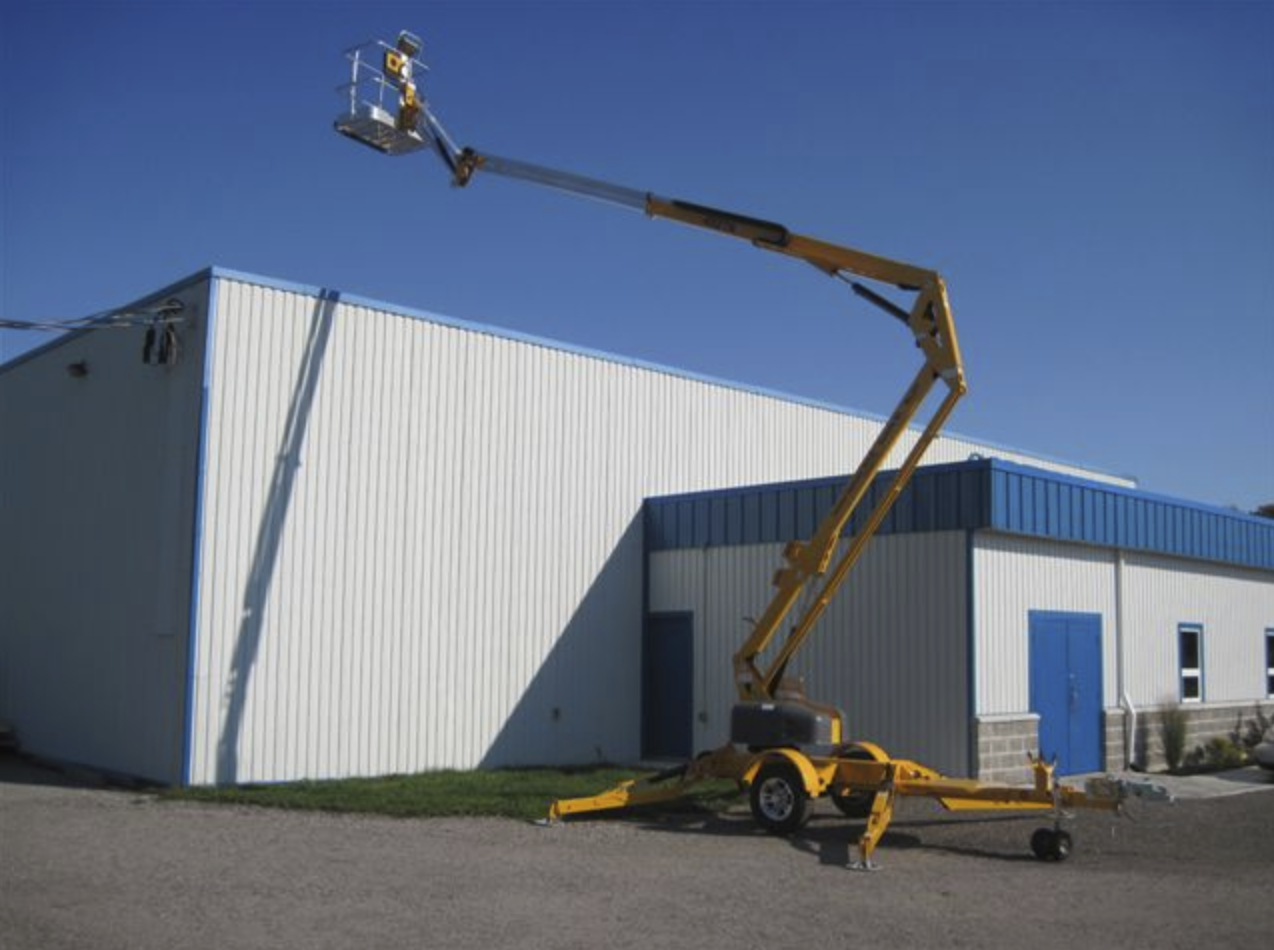 45 foot Lift - Tow Articulating Image