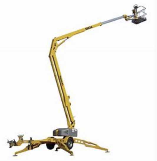 55 foot Lift-Tow Articulating Image