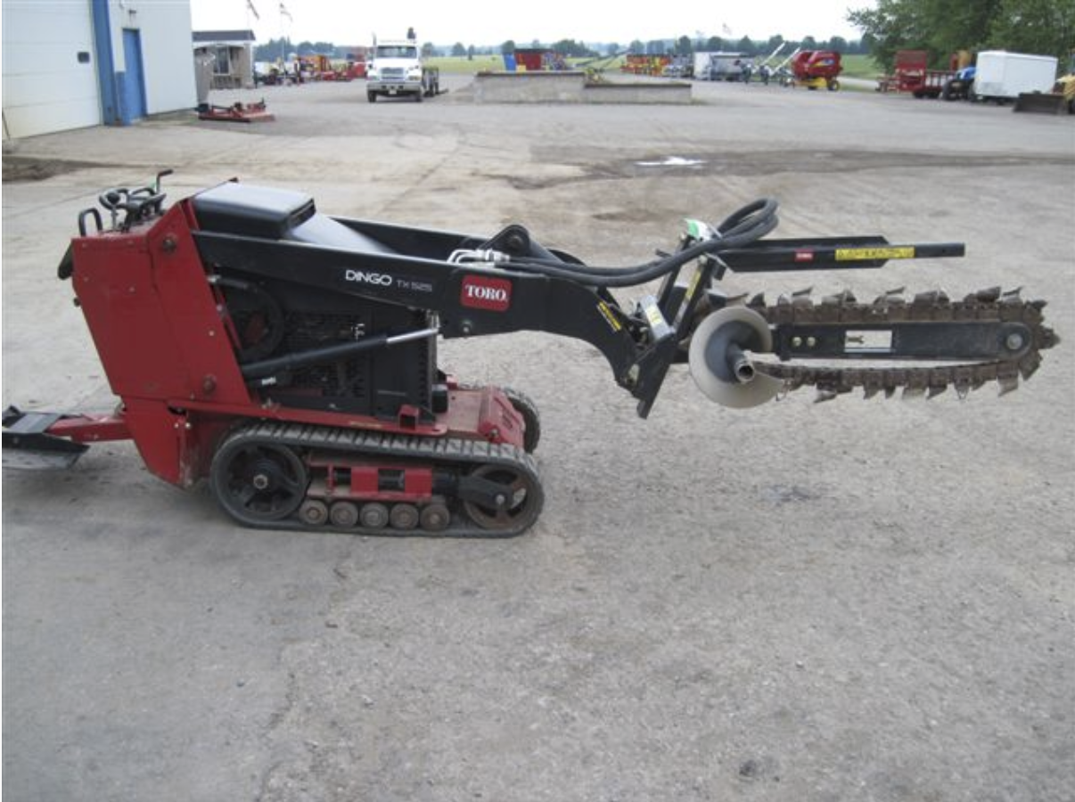Dingo with Trencher Attachment Image