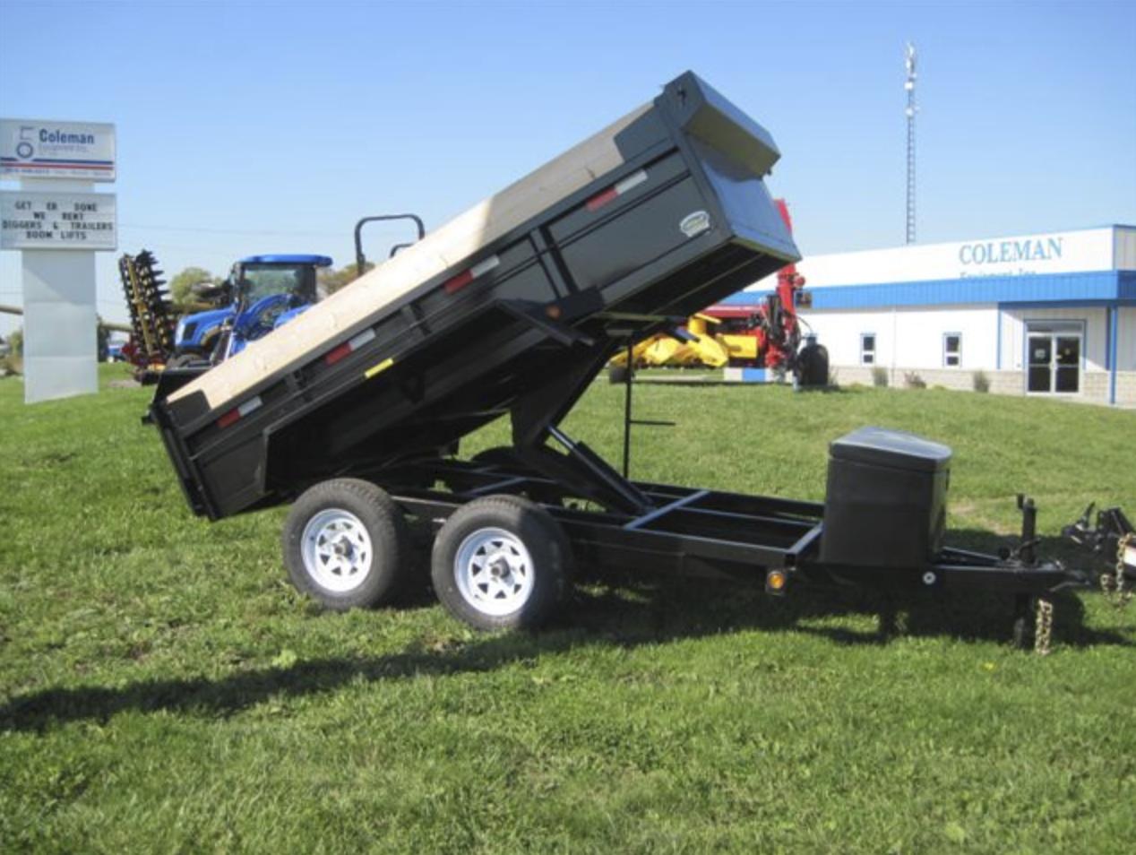 Dump Tandem Axle 7000 lb Image