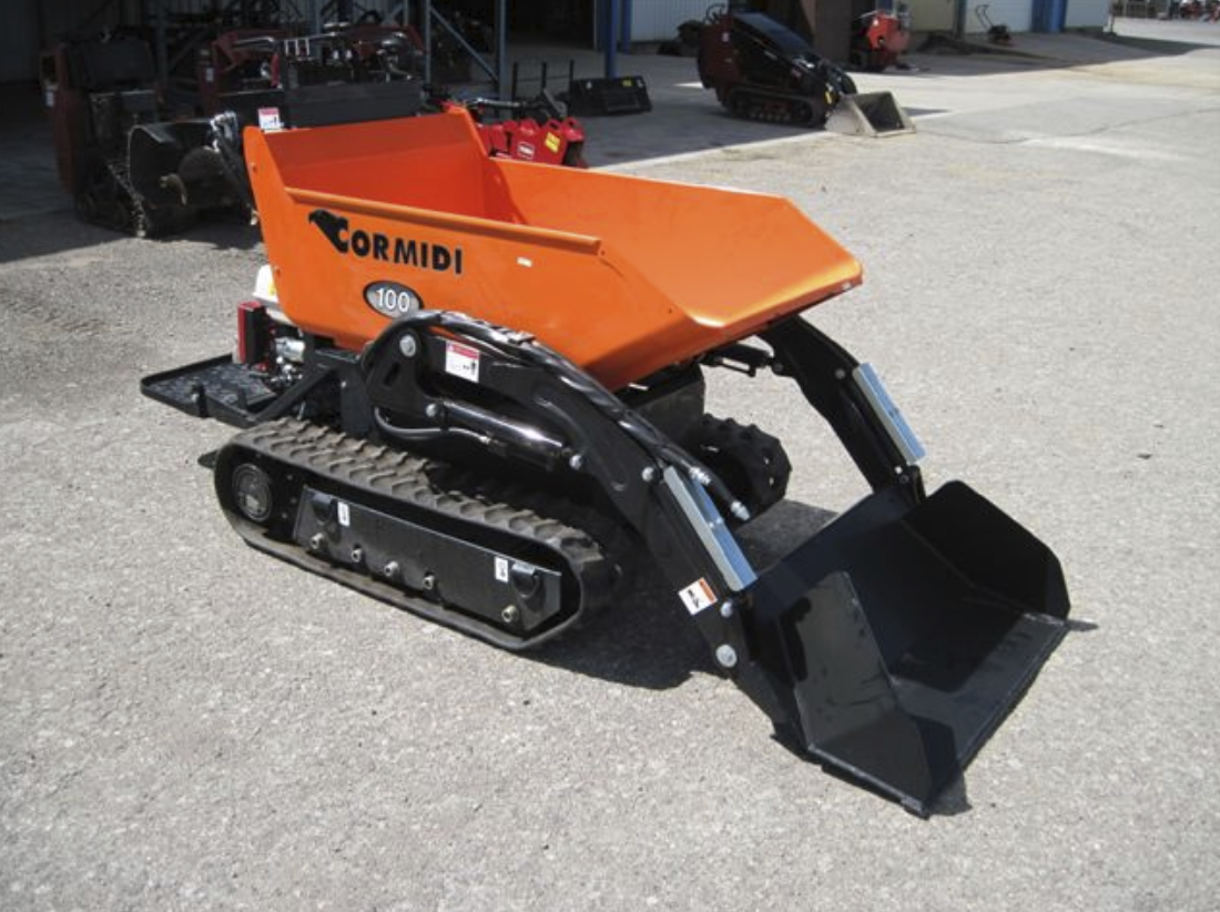 Dumper with Self Loader, Tracked Image