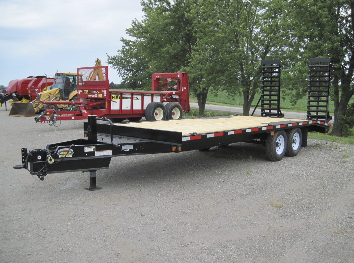 Deck Over Equipment Trailer 8