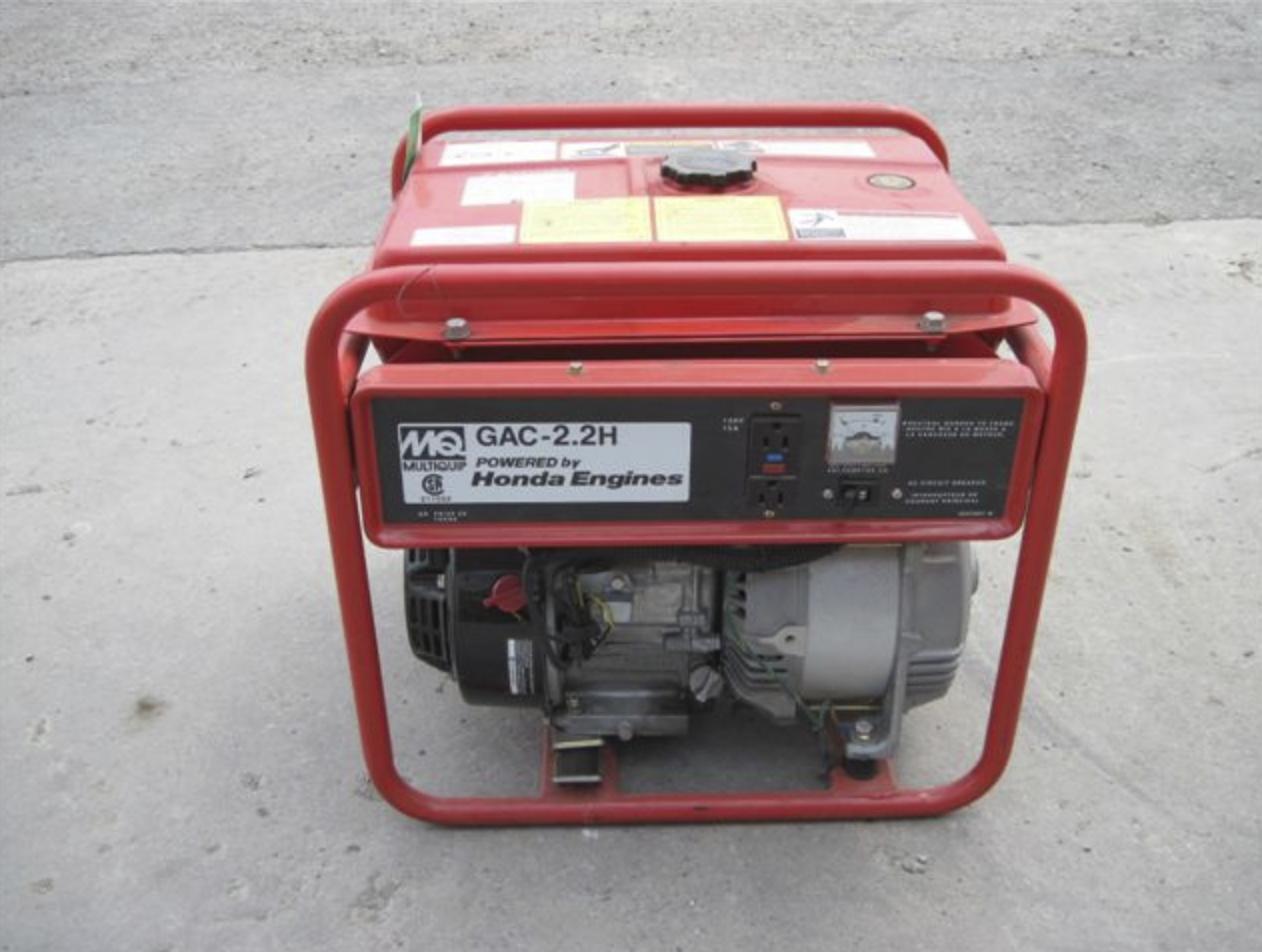 Generator, 2200 Watt Image