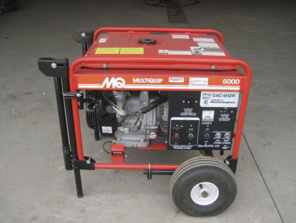 Generator, 6000 Watt Image