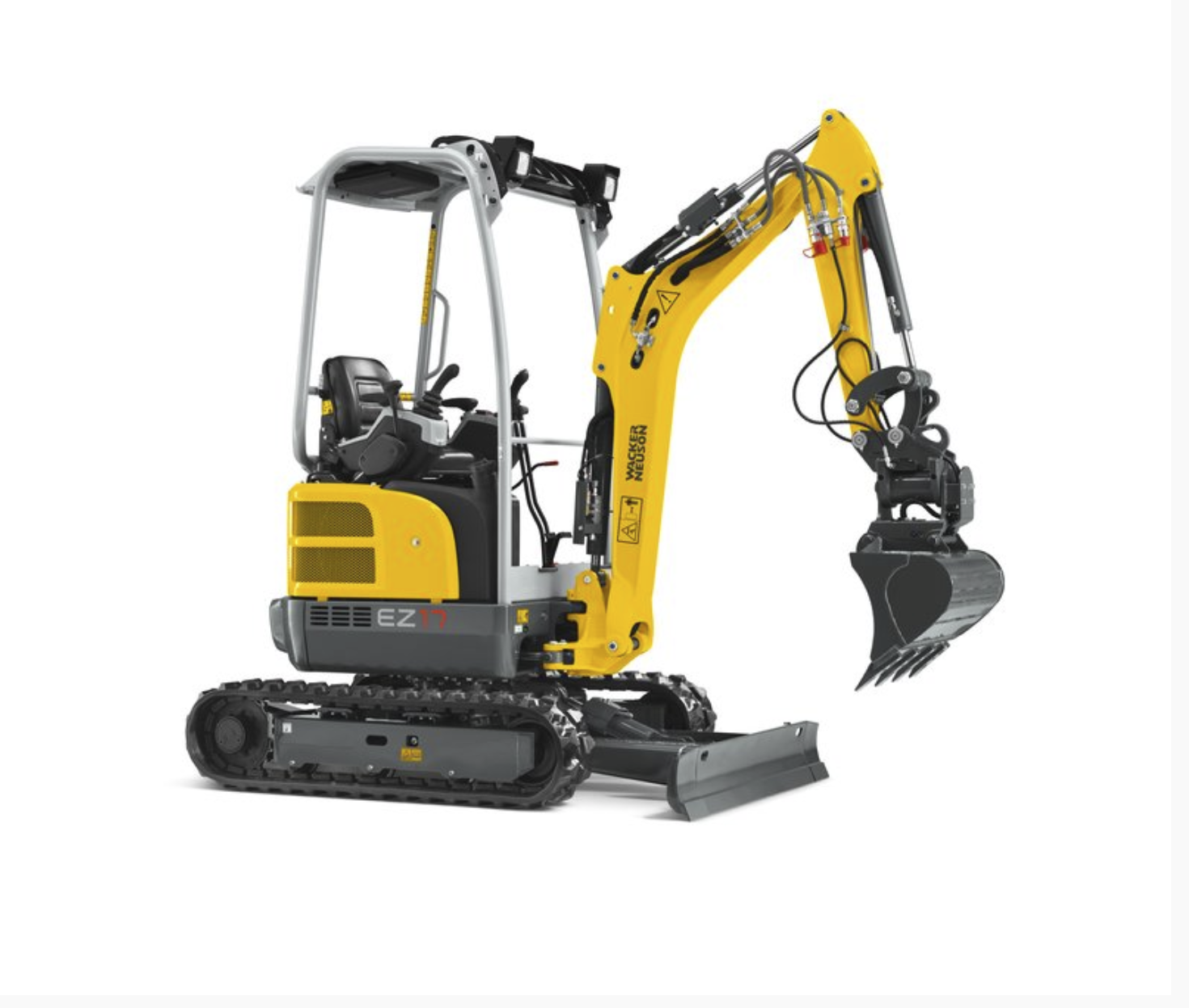Mini Excavator 39 inch, 1.5 tonne Image
