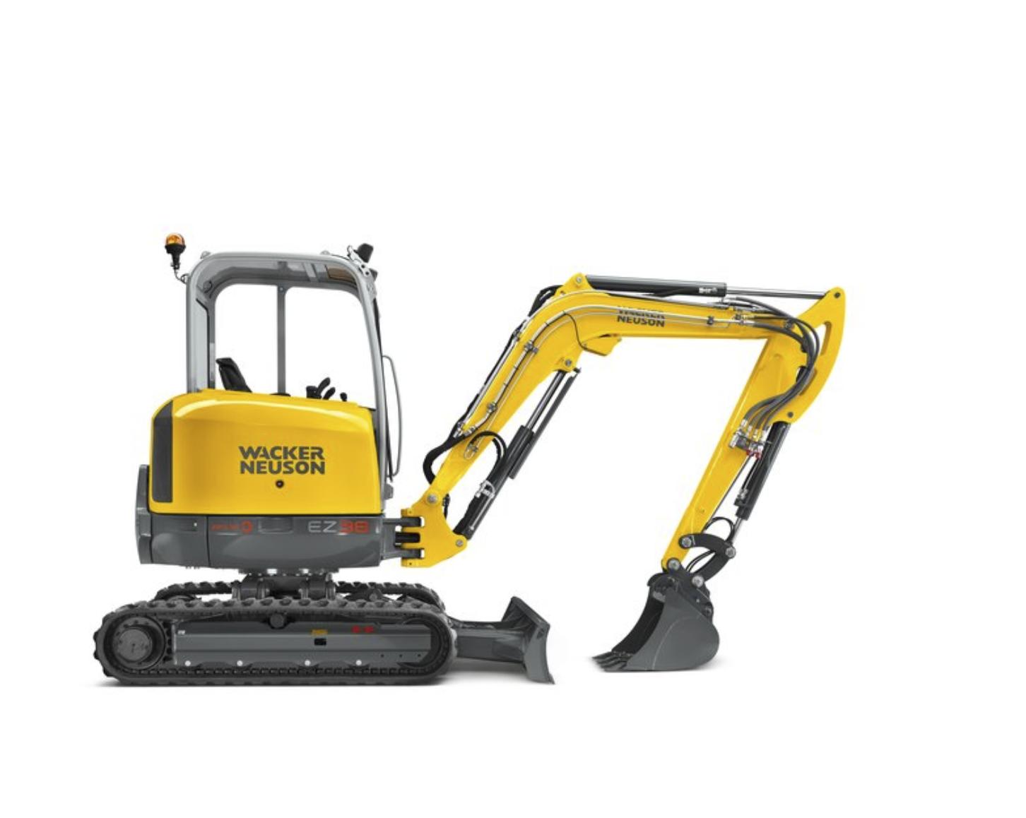 Mini Excavator 68.5 inch 3.8 tonne Image