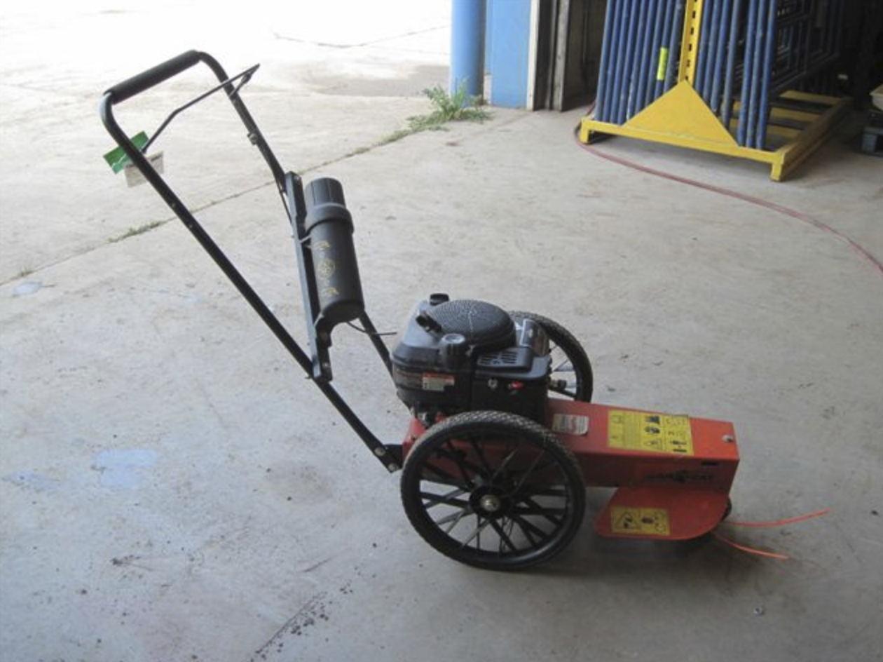 Mower, Brush Wheeled Image