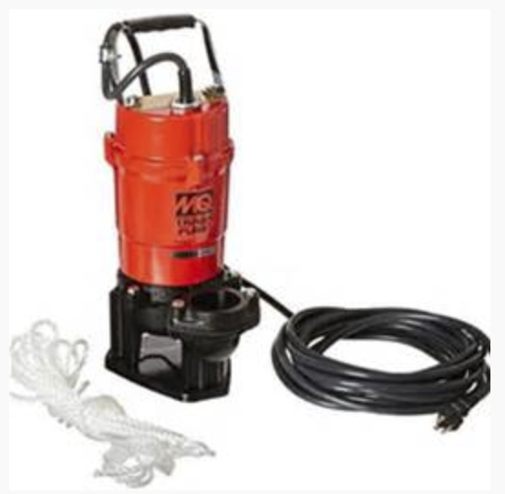 Pump Trash, Electric Submersible 2 inch Image