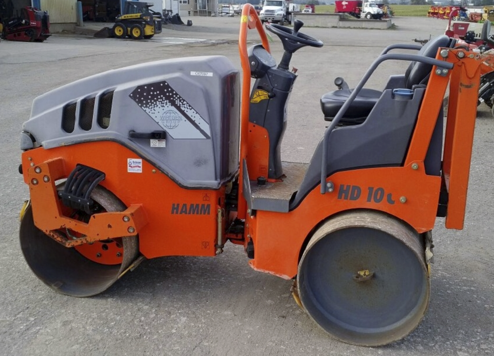 Roller, Ride On Vibe, 1.8 Ton Double Drum Image