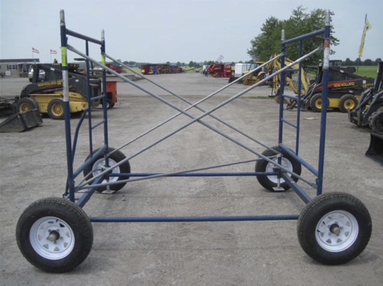 Scaffolding Wagon Image