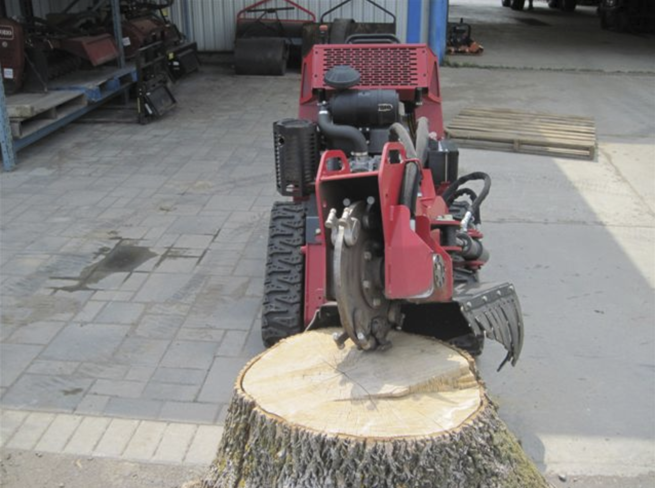 Stump Grinder Walk Behind Self Propelled 26 HP Image