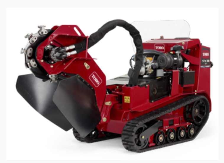 Stump Grinder Walk Behind Self Propelled 38 HP Image