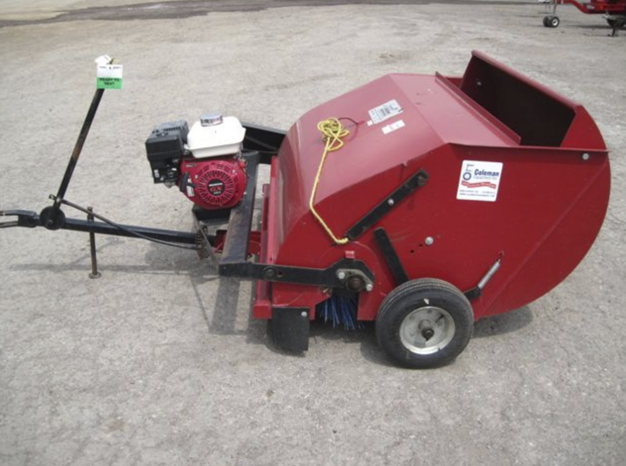 Sweeper, Powered Tow Image