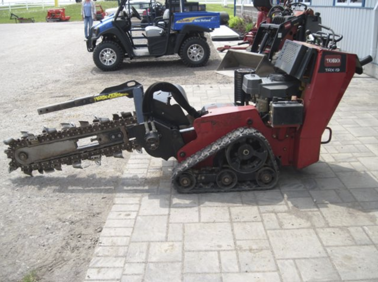Trencher with Trailer Image