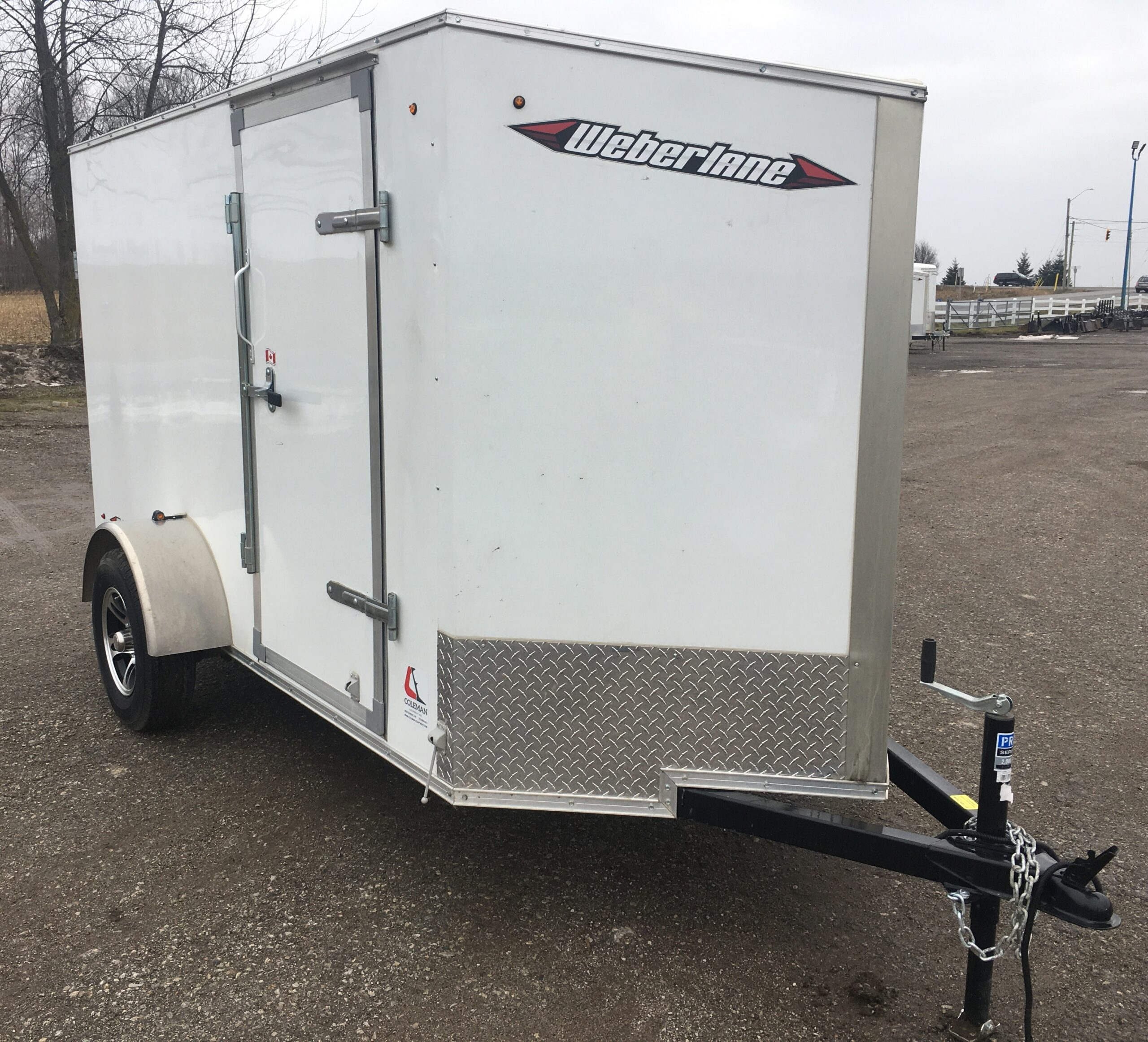 Enclosed Trailer 5X10 Weberlane Image