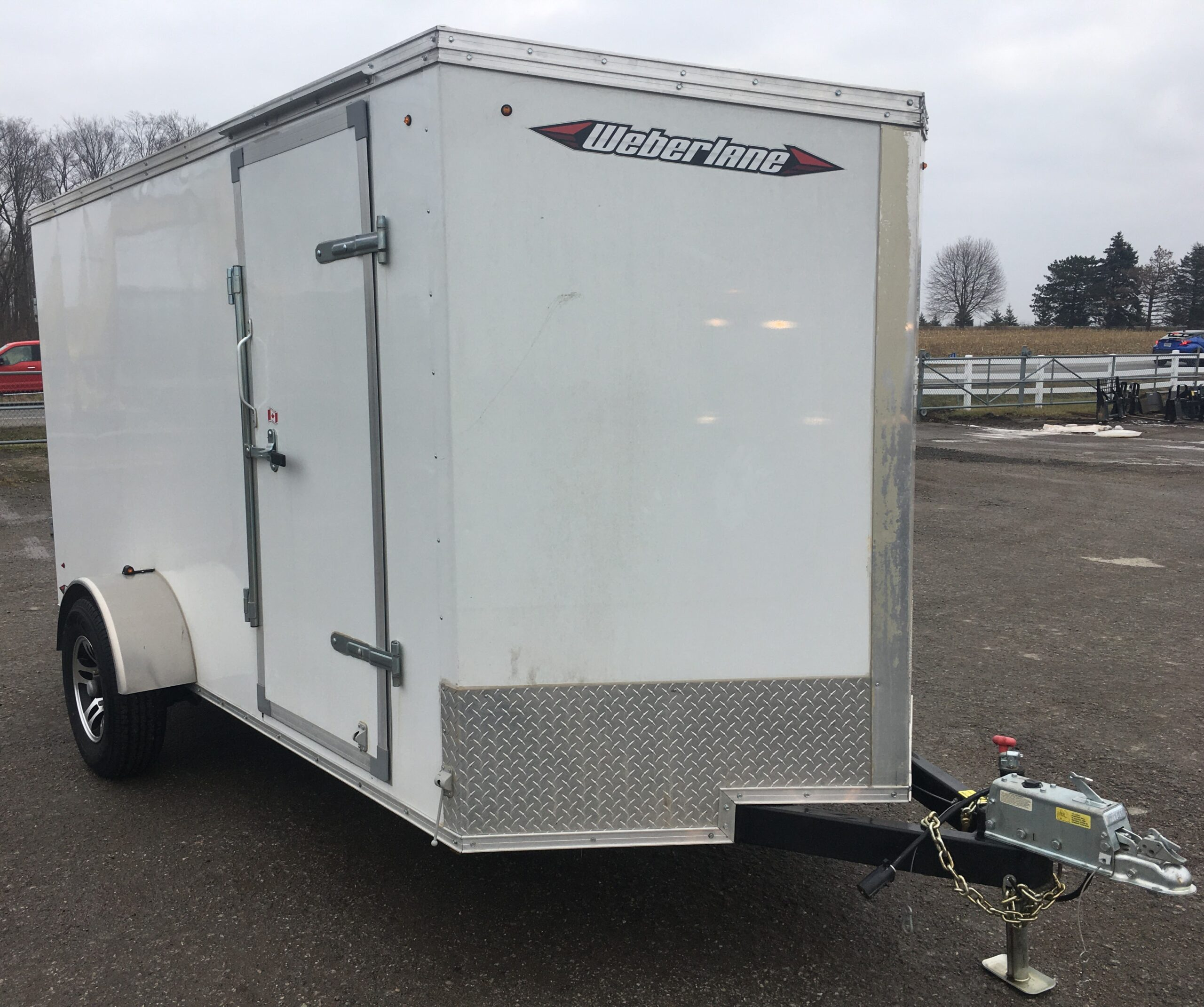 Enclosed Trailer 6X12 Weberlane Image