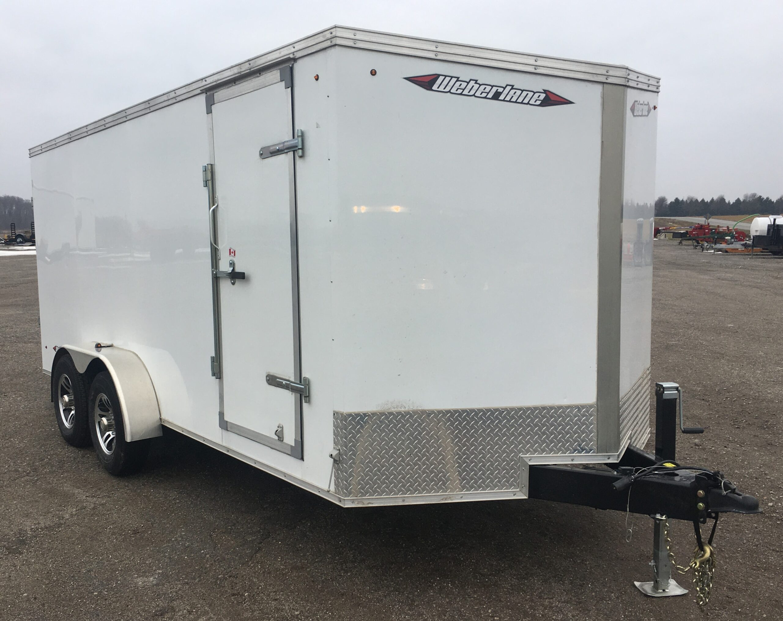 Enclosed Trailer 7X16 Weberlane Image