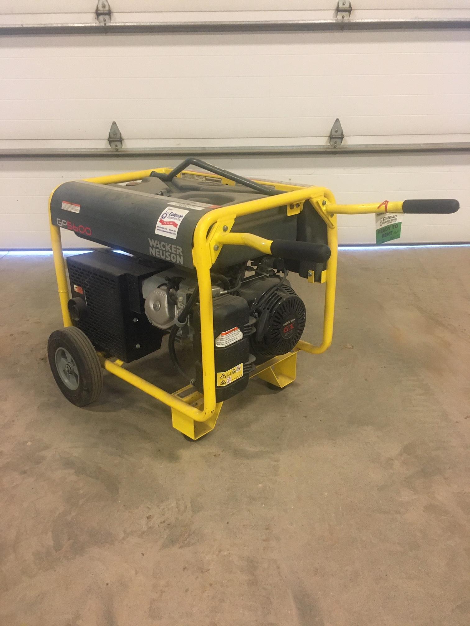 Generator, 5600 Watt Image