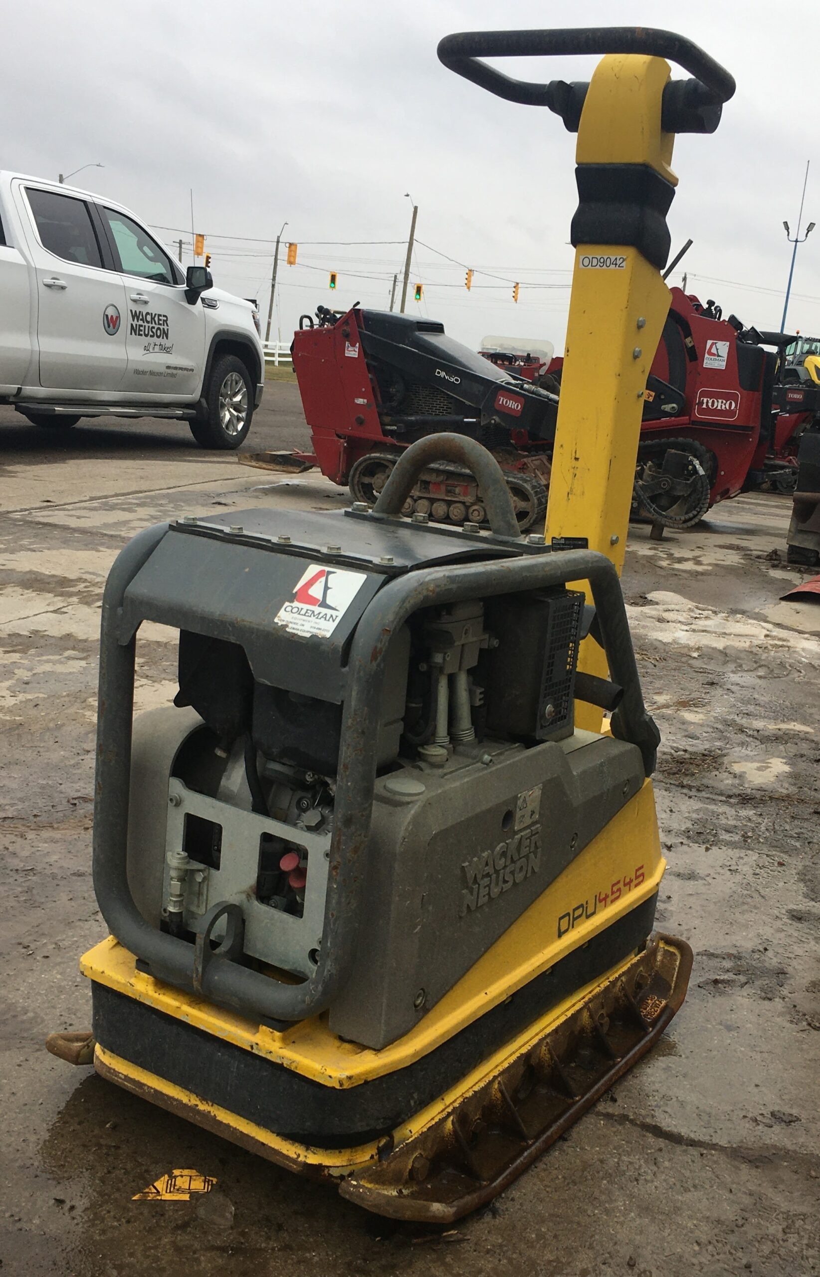 Reverse Plate Tamper 24 inch 900 lbs Image